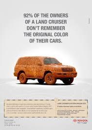 toyota car center land cruiser car print ad by executive center