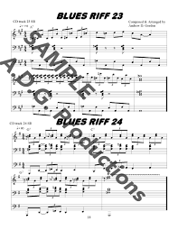 ultimate blues organ riffs pdf file