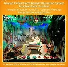 Home Ganpati Decoration 15 Best Home Ganpati Decorations Images On Pinterest Ganesh