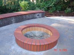 Brick Fire Pits by Fire Pits And Patios Green Thumb Landscaping
