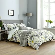 duvet covers grey yellow floral duvet covers grey duvet cover