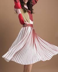 designers remix designers remix para midi skirt orchid