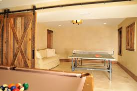 design ideas beautiful pull out couch with barn style wood doors