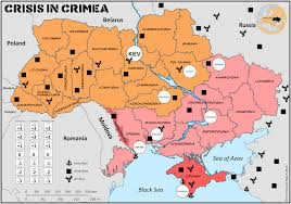 Map Of Ukraine And Crimea Gaming The Crisis In The Ukraine Paxsims
