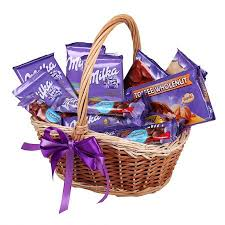 chocolate basket delivery best order milka basket with delivery from ufl pertaining to