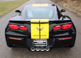 black and yellow corvette pics chevrolet offers yellow length stripe for 2016