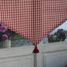 cuisine vichy comptoir de famille brise bise rideau cuisine vichy 60x90