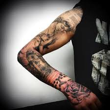 religious sleeve tattoos designs ideas and meaning tattoos for you