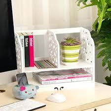 Small Desk Organizer Desk With Storage Shelves Small Shelf For Desktop Desk Organizer