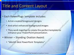 powerpoint template blue and yellow abstract geometric shapes on