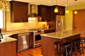 Chestnut Kitchen Cabinets Hickory Hardwood Flooring Kitchen With Cabinet Hardware Chestnut