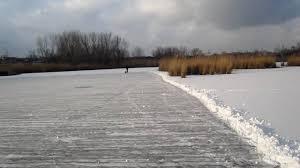 preparing the pond hockey u0027rink u0027 ii youtube