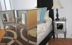 mirrored nightstand ikea mirror night stand reflected types of