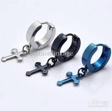 earrings for boys best small cross titanium earrings in ear boys men men s 316l