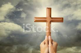praying with a cross stock photos freeimages com