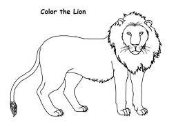 draw lion coloring color luna