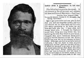 the origin of black friday and slavery exploring the history of a remarkable freedman u0027s letter