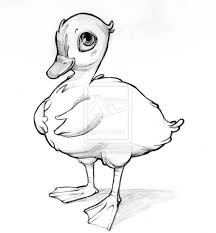 clip art ugly duckling coloring pages mycoloring free printable