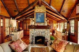 log cabin decorating houzz