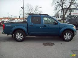 lifted 2003 nissan frontier 2005 electric blue metallic nissan frontier nismo crew cab 4x4