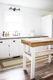 how to build a kitchen island with seating diy farmhouse reclaimed wood from building plans for a