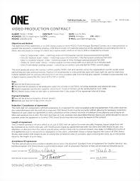 video production contract 6 plus printable contract samples