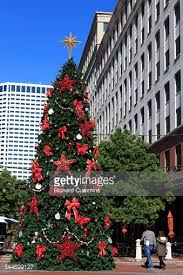 christmas tree decorated at columns hotel stock photo getty images