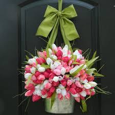 Front Door Metal Decor Six Gorgeous Spring Wreaths To Dress Up Your Front Door Driven