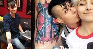 paris jackson u0027s boyfriend in u0027racism row u0027 over u0027confederate flag