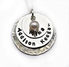 necklace with kids names sted necklace personalized jewelry gift for