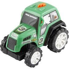 tracteur en bois véhicule lumineux et sonore tracteur vert foncé u2013 la grande récré