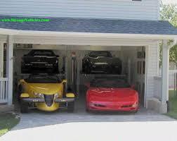 4 car garage cool cars two car garage