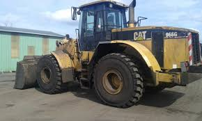 26 5r25 ma02 l3 mounted at caterpillar wheel loader in france