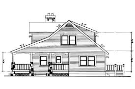 Cottage Bungalow House Plans by Craftsman House Plans Altadena 41 006 Associated Designs