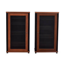 Media Cabinets With Glass Doors 70 Salamander Designs Salamander Designs Synergy Media