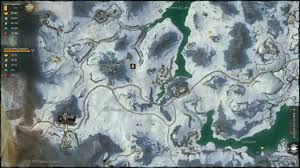 Gw2 World Map by Guild Wars 2 Snowden Drifts Completed Map Youtube