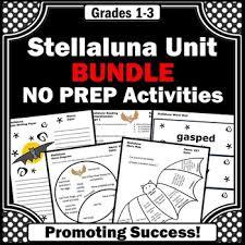 stellaluna book unit bundle of stellaluna activities halloween
