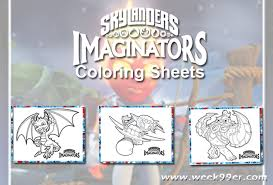 skylanders summer games printable coloring sheets trainingfor2020