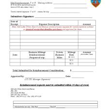 expense reimbursement form template it resume cover letter
