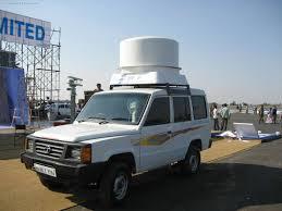 tata sumo aero india 2015 tata sumo with sv2000 radar to catch enemy