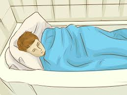 how to sleep in a bathtub 9 steps with pictures wikihow