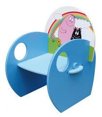 bureau barbapapa chaise fauteuil coloré pour enfants collection barbapapa tous
