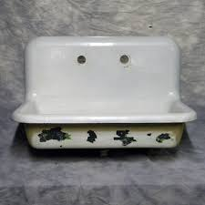 vintage wall hung sink cast iron wall mount bathroom sink sink ideas