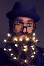 beard ornaments illuminate your hair with beard lights hair and