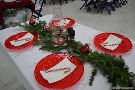 christmas dinner table centerpieces christmas dinner table ideas from our church s christmas dinner