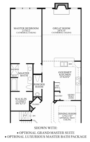 Master Bedroom Bath Floor Plans Enclave At Pleasantville The Henderson Home Design