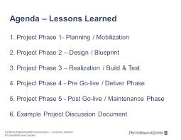 isaca systems implementation assurance u2013 lessons learned february