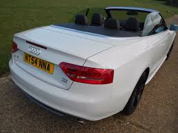 convertible audi white used white audi a5 for sale hertfordshire