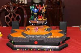 power rangers birthday cake coolest power rangers birthday cake