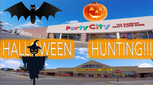 what time does party city close on halloween